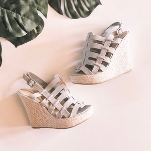 Chinese Laundry Dance Party Suede Wedges
